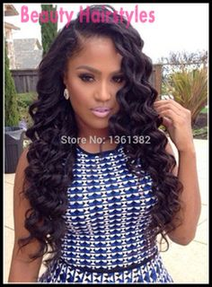 Hot Sale U Part Wig Brazilian Virgin U Part Human Hair Wigs on Right Side Part Wavy Upart Wig Natural Color For Black Women!!! Clip In Hair Extensions, Weave Extensions, Brazilian Hair, Gorgeous Hair, Hello Gorgeous, Pretty Hair, Wave Hair, Loose Waves Hair, Long Weave