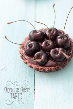 My CuteCakes: Tartaletas de Chocolate y Cerezas