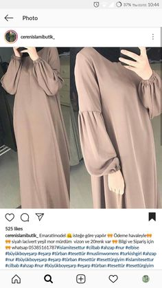 Tunik Hijab Style Dress, Casual Hijab Outfit, Hijab Chic, Hijab Mode, Mode Abaya, Islamic Fashion, Muslim Fashion, Abaya Fashion, Fashion Dresses