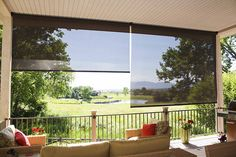 Exterior Solar Shades - Oasis Series - tropical - patio - denver - Insolroll Window Shading Systems