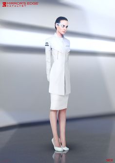 "ArtStation - ""Mirror's Edge: Catalyst"" - Elysium Scientist - Concept Art, Per Haagensen"