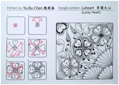 Zentangle Pattern Gallery (Step-by-Step)