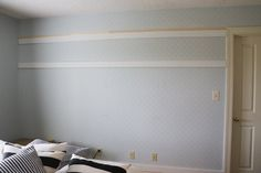 Why nailing 2 MDF boards into your wall is the hottest bedroom update
