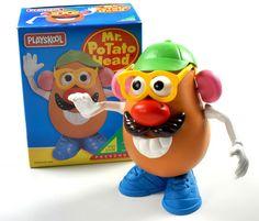 Using Mr. Potato Head to aid in language development #toddler #language #requesting