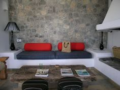 Can Alaya on Ibiza ,Spain is a chic and modern 200-year old finca which has been fully restored. Set in a beautiful hill top location with stunning panoramic views