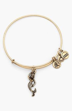 Alex and Ani 'Mermaid' Charm Expandable Bangle...there is something about this one I really like!