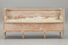 another VERY old wooden sofa