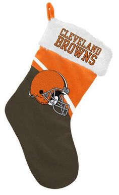 Cleveland Browns Christmas Stocking