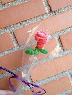 mamá lo hace: Rosas de Gominola
