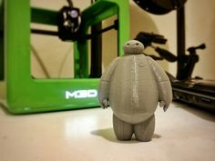 Baymax!!!  Make yours here: Baymax found on #Thingiverse http://www.thingiverse.com/thing:1025938