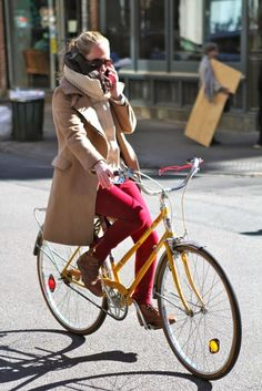 Ode to the stylish bike rider. Were excited for the weather to warm up and to see all the cool kids sporting their bicycles. Dont have a bike? We have some very affordable and cool colored bikes up now. 1 / 2 / 3 / 4 / 5 / 6 / 7 / 8 / 9 / 10 For more bike inspiration, follow our bike, music, games board.