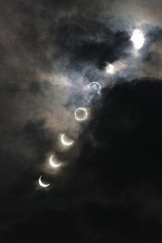 gece gökte doğar ay yükselip batmak için