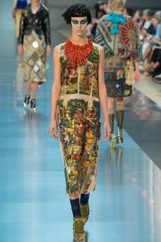 Maison Margiela Fall 2015 Couture Fashion Show - Ondria Hardin