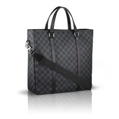 Louis Vuitton Tadao Tote Bag- seriously, this will be mine. And I'll take a trip to NYC just to get it.