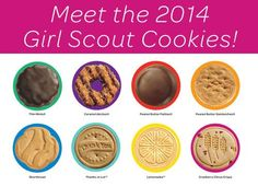 The 2014 Cookie Sale is here! Meet the cookies and learn more about the 5 Skills!