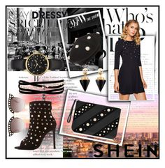 """SHEIN CONTEST"" by lakisha-34 ❤ liked on Polyvore featuring Liliana, Karl Lagerfeld, Berry, Kenneth Jay Lane, Vita Fede, Gucci and Kate Spade"