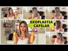 Exo Hair Exoplastia Capilar Kit de Alisamento e Tratamento (2 produtos de 500ml) - Quero Muito