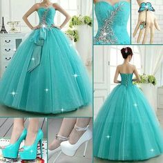 Modest Quinceanera Dress,Beaded Prom Dress,Fashion Prom Dress,Sexy Party Dress,Custom Made Evening Dress Ball Gown Dresses, Pageant Dresses, Quinceanera Dresses, Evening Dresses, Quinceanera Party, Pretty Dresses, Sexy Dresses, Dress Outfits, Fashion Dresses
