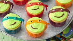 Teenage Mutant Ninja Turtles Cupcakes recipe from Betty Crocker
