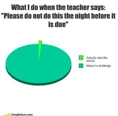 Music & Culture for People Who Love Charts Funny Relatable Memes, Funny Texts, Funny Jokes, Epic Texts, Funny Minion, Funny Pie Charts, School Memes, Funny School, School Quotes