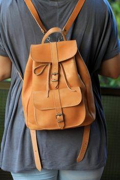 0623932951 Chistmas gift Gift For Women Gift For Her Leather Backpack Boho Móda