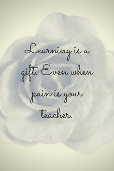 """The """"gift"""" part is having the patience to learn anything, knowing you could be rewarded for it."""