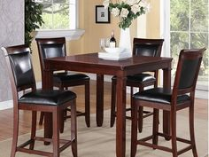 Dallas 5-pc. Counter-Height Dining Set  with leaf