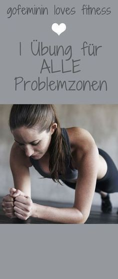 Mit dieser einen Übung bringt ihr euren gesamten Körper in Form The Ultimate Exercise for the Whole Body – 1 Exercise for 1 Tight Body *** One Power Exercise for every problem you may have – get lean and stay lean with a plank Fitness Workouts, Fitness Motivation, Tips Fitness, Sport Fitness, Sport Motivation, At Home Workouts, Quotes Fitness, Fitness Goals, Shape Fitness