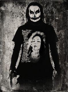 Dani filth art-by Erick Dani Filth, Cradle Of Filth, Blackest Black, Black Metal, Book Art, Infinity, Bands, Batman, Times