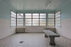 Photography of an abandoned morgue near Paris by LeLuxographe on Etsy