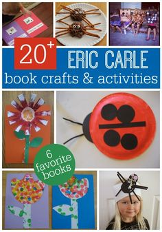 6 Eric Carle Books & Activities for Toddlers and Preschoolers