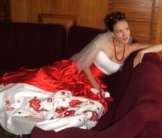 Wedding Dress - Ukrainian style