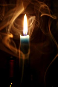 A candle is a good magick tool bcuz it has all 4 elements: earth (wax), air (smoke), fire (flame) & water (melted wax). Light My Fire, Light Up, Chandeliers, Candle In The Wind, Candle Magic, Jolie Photo, Candle Lanterns, Book Of Shadows, Magick