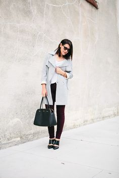 Kendi Everyday: Like a Boss City Style, Style Me, Burgundy Pants, Autumn Winter Fashion, Winter Style, Sassy Hair, Street Style Blog, Current Fashion Trends, Like A Boss