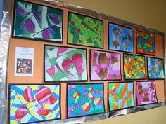 K-12 Art Teacher blog...lots of cool ideas