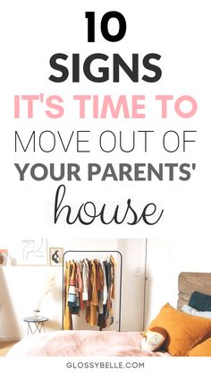 Wondering whether it's the right time to move out of your parents' house? There can be a variety of indications that it's time to move out on your own or with roommates. Here are 10 subtle signs you need to look out for. Tips For Moving Out, Quotes About Moving On, Move Out Parents House, Apartment Essentials, Apartment Checklist, Apartment Goals, Apartment Ideas, First Apartment Tips, Never Good Enough