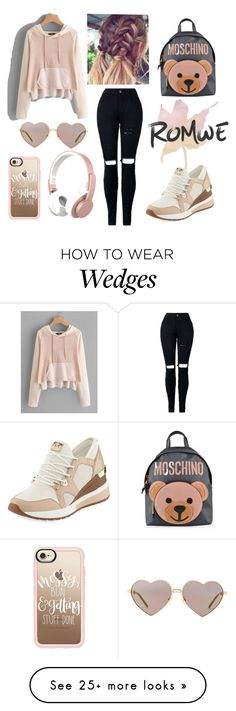 """Sin título #559"" by maria-milagro-malik on Polyvore featuring MICHAEL Michael Kors, Moschino, Wildfox, Casetify and Urbanista"
