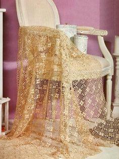 Crochet Patterns: Crochet Pattern Of Fine Lace