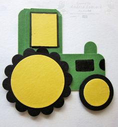 Punch Art John Deere Tractor « EnchantINK