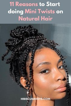 11 Ways Mini-Twists Grow 4C Natural Hair!