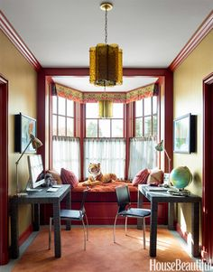 Fall Color Schemes - Fall Decorating Ideas - House Beautiful