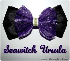 Seawitch Ursula :) I'm gonna own all the Little Mermaid bows!!