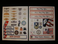 COAST GUARD Scrapbook Cardmaking Cutouts by LadyBeeDesigns on Etsy, $13.00