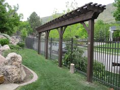A DIY timber frame arbor kit is an excellent way to accent your backyard living spacewith superior strength due to The Dovetail Difference™ design, a mortise and joint system with no ugly hangers or lag bolts in view. Backyard Privacy, Outdoor Pergola, Backyard Retreat, Backyard Patio, Trellis Design, Diy Arbour, Arbors Trellis, Wisteria Trellis, Privacy Fence Designs