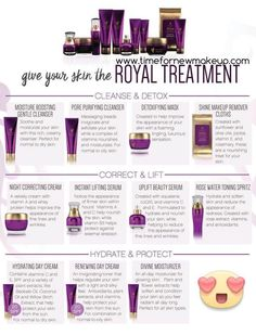 Younique's New Royalty Skin Care. Available September 15, 2016 at www.timefornewmakeup.com