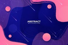 Abstract background with liquid effect and memphis Abstract Lines, Abstract Shapes, Blue Abstract, Geometric Shapes, Holographic Background, Geometric Background, Dark Backgrounds, Abstract Backgrounds, Background Templates