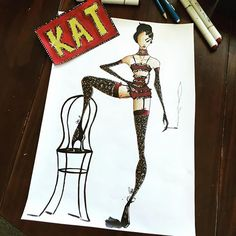 Welcome to the KIT KAT CLUB ... presenting the cabaret girls.... #stockings #femmefatale #beret #art #artist #illustrator #illustration #fashion #fashionsketch #fashionsketches #fashionsketchbook #fashionillust #fashionillustrator #fashionillustration #fashionart #fashiondrawing #copic #copicart #copicmarkers #winsorandnewton #gouache #berlin #kitkatclub #cabaret #showgirl