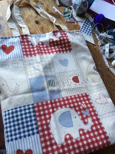 Tote bag for a little girl