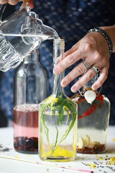 How To Make Infused Vinegars