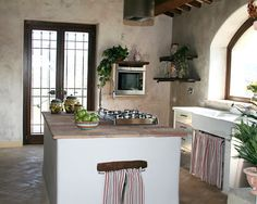 Our country kitchen in Umbria.